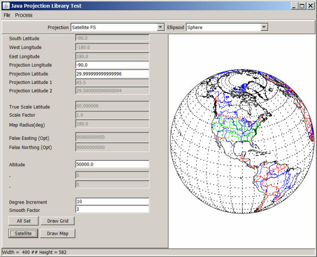 Java map projection library jmpl project web hosting open here is the gui for the map projections test program all source code is included gumiabroncs Gallery